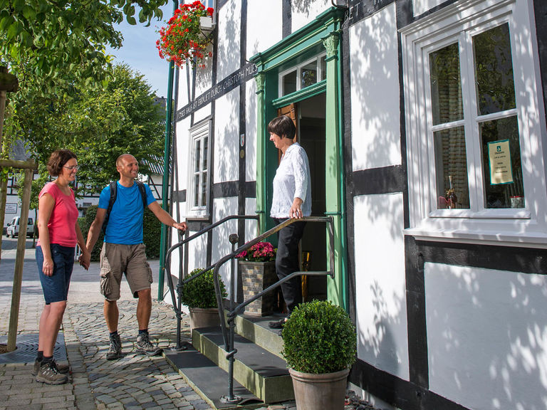 Hospitality and half-timbered houses in Sauerland