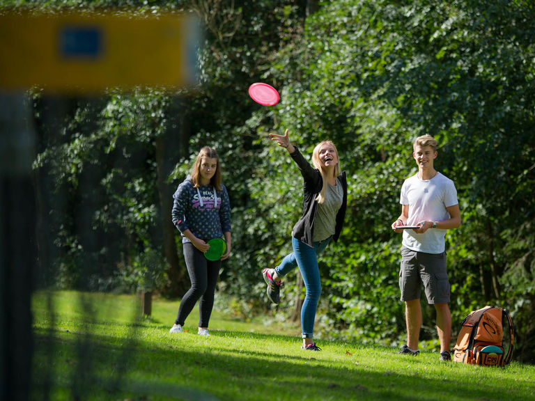 Discgolf-Anlage in Bad Fredeburg