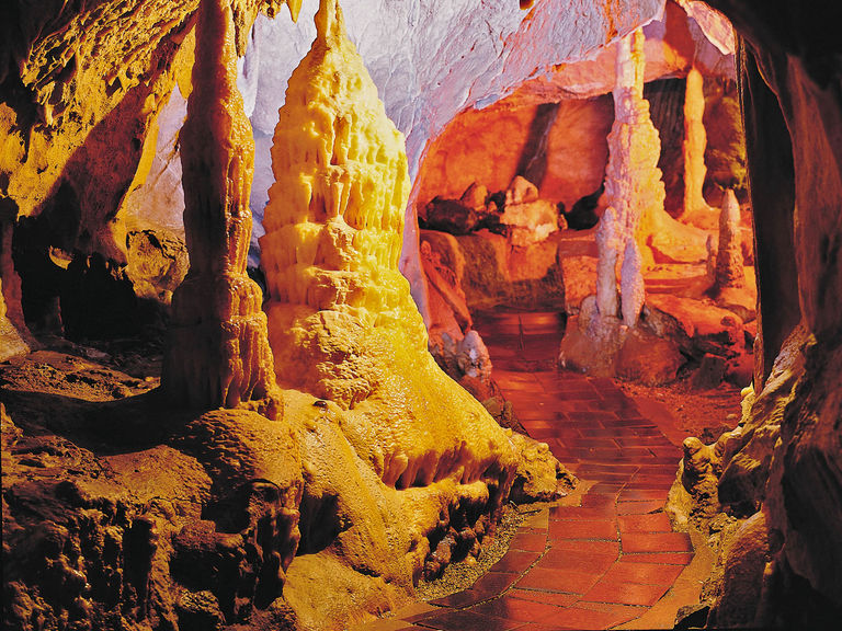 Atta cave in Attendorn in the Sauerland