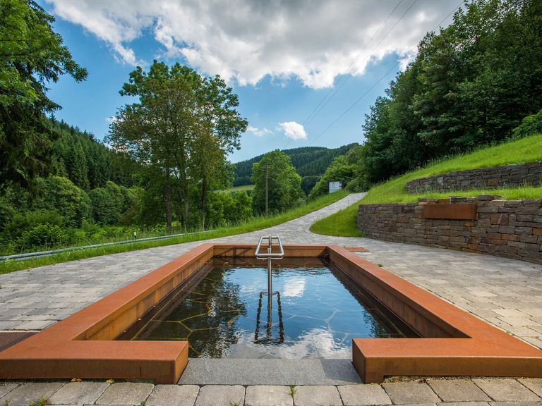 Treading pool in Nordenau in the Sauerland