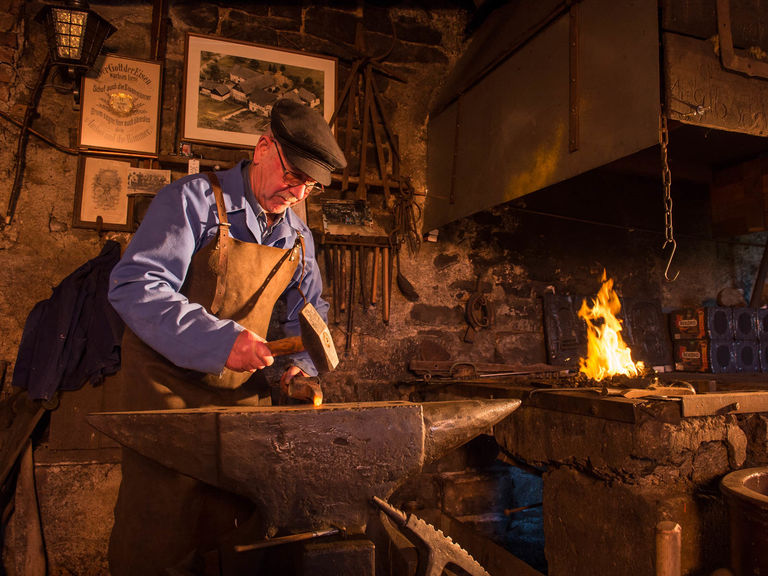 Blacksmith in Reiste in the Sauerland
